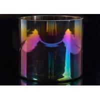 Quality Popular Decor Candle Holder Glass Replacement Luxury Iridescent Straight Side wholesale