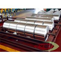 Quality 3004 Alloy H18 Temoer Aluminium Coils For Continuous Casting , Aluminum Strip wholesale