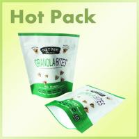 Buy cheap Aluminum Foil Printed Stand Up Pouches High Transparency Punctures Proof product