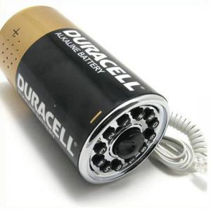 China Battery Shaped Telephone (WX2177) on sale