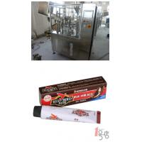 China PLC Control 304 Stainless Steel Tube Filling Equipment 30 - 50 Tube / Minute For Shoe Polish on sale