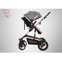 China Shocking Proof High Landscape Baby Stroller Rotatable Seat  Big Mom Bag on sale