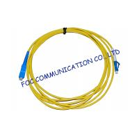 Quality Simplex Singlemode Fiber Optic Cable Patch Cord For FTTH Systems, Low Insertion Loss wholesale