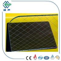 Quality 6.5mm 7mm 6mm laminated glass wire mesh for Window , door with CCC ISO CE wholesale