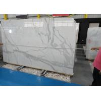Quality Morden Design Italy Calacatta Marble Slab , Marble Wall Slab 20mm Thickness wholesale