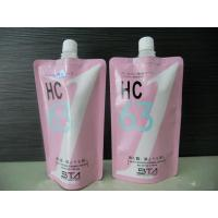 Quality Cosmetic Plastic Spout Bag Packaging Stand-UP Pouch With Spout , Flexible wholesale