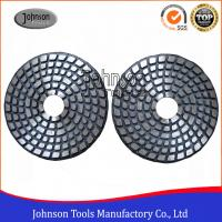Quality 4 Inch Metal Bond Diamond Polishing Pad , Polishing Tools for Stone and Concrete wholesale