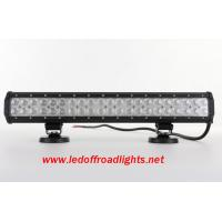Quality 20 inches 12V water proof IP67 126W off road LED light bar,led lights for trucks wholesale