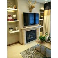Quality Steel Material Corner Gas Fireplace 36 Inch , Gas Direct Vent Fireplace High Efficiency wholesale