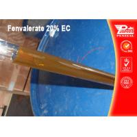 Quality Non Systemic Insecticide For Fruit Trees Fenvalerate 20% EC CAS NO 51630-58-1 wholesale