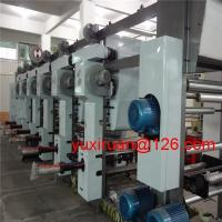 Cheap Automatic Continuous 6 Colour Soft Film Rotogravure Printing Machine ASY-6600A for sale