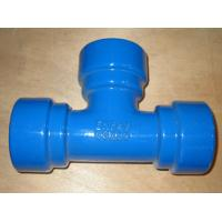China ductile iron pipe fitting on sale