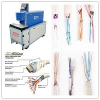 Quality CO2 Laser Copper Wire Stripping Machine With Double Tube Double Light Road Design wholesale