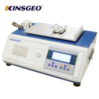 Quality 140 x 50 mm GESTER Textile Testing Yarn Coefficient Friction Tester With 12 Months Warranty wholesale