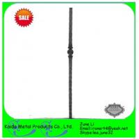 Quality wrought iron metal iron baluster for iron window grills wholesale