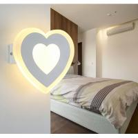 Quality Matt white Acrylic LED wall lights /inside led wall lamps for hotel rooms wholesale
