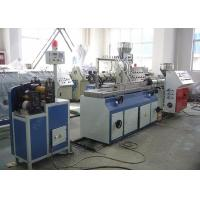 China Single Screw PVC Profile Extrusion Line , SJ65 / 25 PVC Edge Banding Extrusion Line on sale