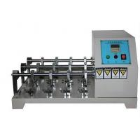 Quality Leather Bending Resistance Testing Machine , BALLY Leather Crumpling Resistance Tester wholesale