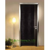 Quality Simple Style Aluminium Office Doors, Aluminum Alloy Water Resistance Interior Office Door wholesale