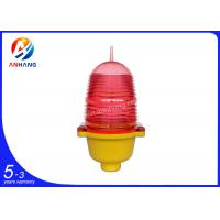 Quality ICAO Low intensity red led aircraft warning lights with flashing mode or steady burning model wholesale