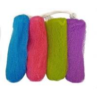 Quality Exfoliating Mesh Soap Saver Pouch (4pk)(Color Assorted) wholesale