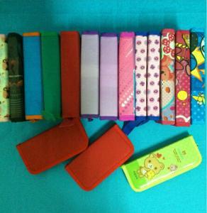 Cheap Promotional round Zipper pencil pouch/bag/case for sale