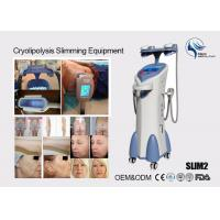 China Cryolipolysis Slim Freeze Fat Freeze Slimming Machine , Fat Reduction Equipment on sale