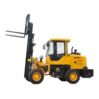 Quality Small All Terrain Electric Forklift Truck 920 FL , Forklift Front End Loader wholesale