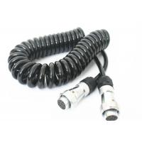 Quality TPU Jacket Retractable Coil Cord For Truck Trailer Power Signal Transmission wholesale