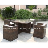 China rattan garden furniture with pillow&cushion on sale