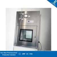 China Clean Transfer Window  Dynamic Pass Box With VHP Sterilizer Reduce Cross Pollution on sale