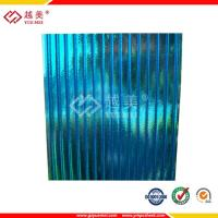 China lowes polycarbonate hollow panels roofing sheet on sale