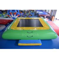 Quality Water Park Commercial Grade PVC Inflatable Water Trampoline For Kids / Adults wholesale