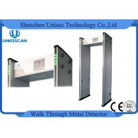 Quality UB800 Multi Zone Metal Detector 33 Zones Security Walk Through Metal Detector wholesale