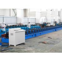 China Galvanized Steel Automatic Roll Forming Machine6-15m/Min Flying Welding on sale