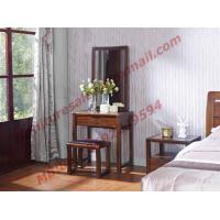 Quality Modern Design Solid Wooden Dressers with Mirror in Bedroom Furniture wholesale