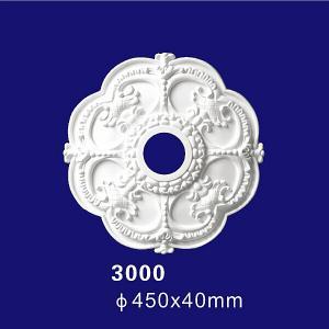 Quality European Design Building Inteior Decoration PU Material Polyurethane Ceiling Medallion wholesale