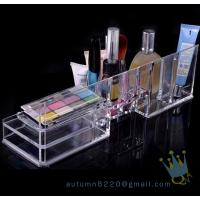 Quality acrylic cosmetic organizer with drawers wholesale