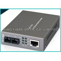 Quality SNMP Managed Fiber Optic Fast Ethernet Media Converter RJ45 to SC Web - Based wholesale