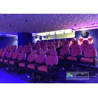 Quality JBL Sound System 6D Movie Theater Black / Red Motion Chairs For Shopping Mall wholesale
