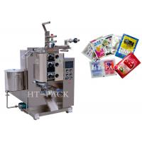 Quality Stainless Steel Automatic Liquid Packing Machine For Sauce / Vinegar / Oil Bag wholesale