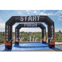 Quality custom angle tough mudder arch inflatable for start/finish line in sport event wholesale