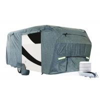 Quality Anti Uv Durable Rv Covers Travel Trailer Snow Proof Extra Thick Fabric wholesale
