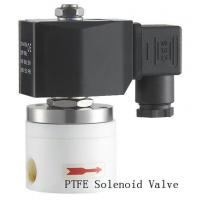 Quality Direct Acting PTFE Solenoid Valve Electric Air Solenoid Valve 3/4 Inch wholesale