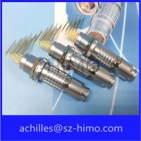 Quality ip50 circular 5pin lemo replacement connector wit pcb contact pin wholesale