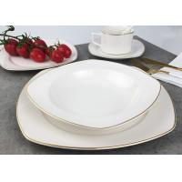 Quality Real Gold Line Southwestern Dinnerware Sets Eco - Friendly Hand Painted wholesale