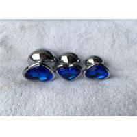 Cheap Various Colors Heart Shape Aluminum Alloy Silver Metal Jewelry Expand Anal Plug for sale