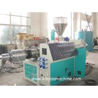 Quality Electric PVC Pipe Extrusion Machine With DTC Spiral feeding machine wholesale