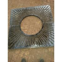 China china casting supplier direct high quality 4 Spaces and covers ductile cast iron grate 150 x 150cm on sale