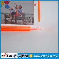 Cheap Custom design 4*6cm Cute acrylic photo frame / cheap picture frames in bulk for sale